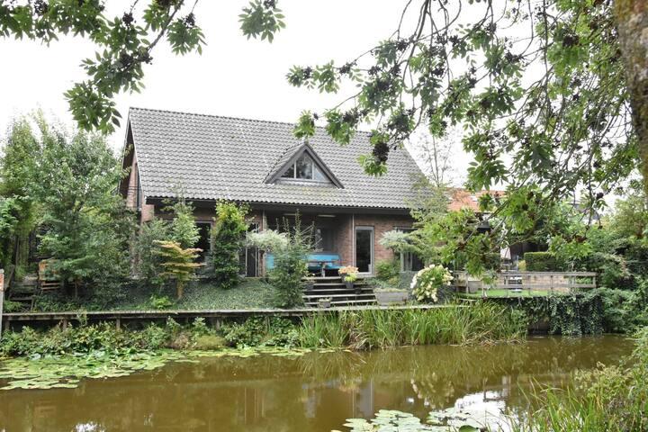 Prachtige woning voor rust en stadsleven