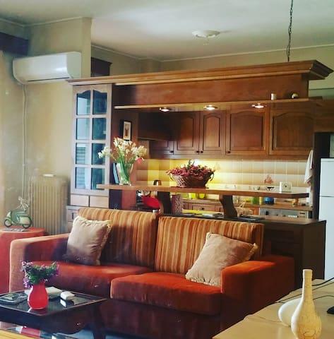 Δωμάτιο σε άνετο διαμέρισμα στο Χαλάνδρι - Marousi - Apartemen