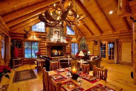 Rustic 4BR Highland Log Cabin - Highland