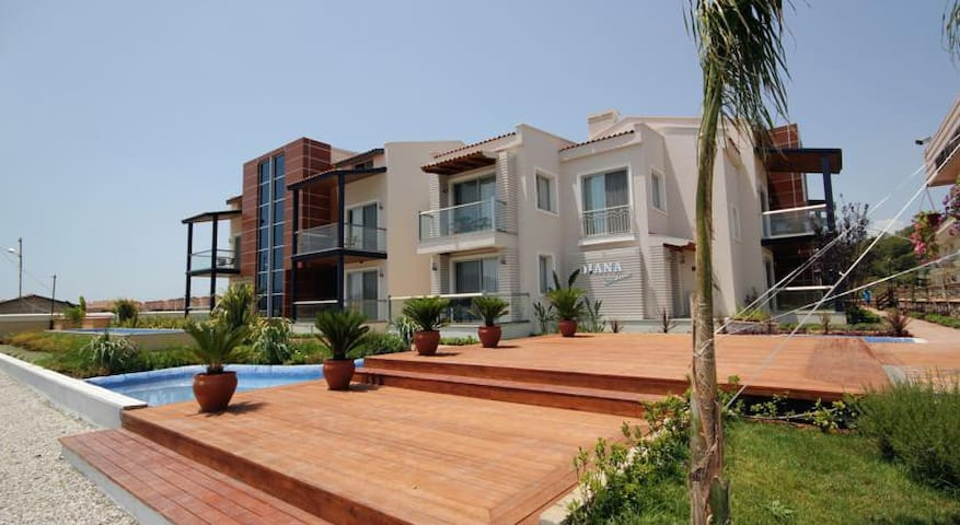 Diana Residence 2 bdr Calis Beach - Fethiye - Apartment