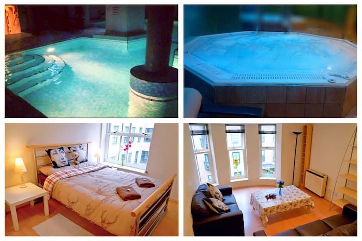 Lovely Apartment with Gym and Pool - Manchester - Appartement