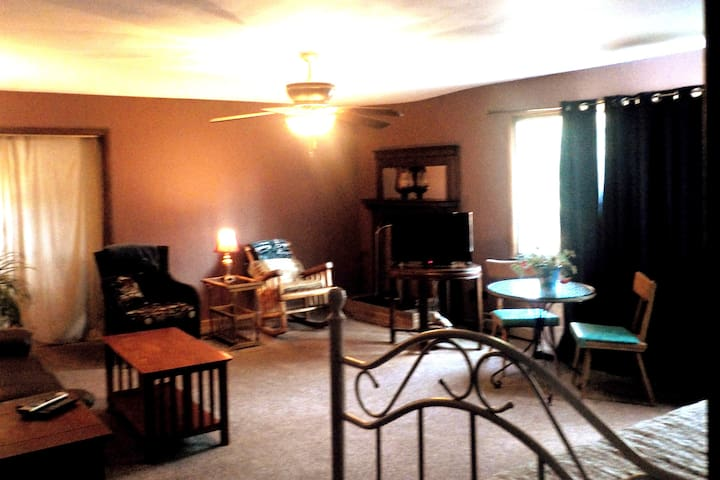 Private Two Bedroom Upstairs Suite,