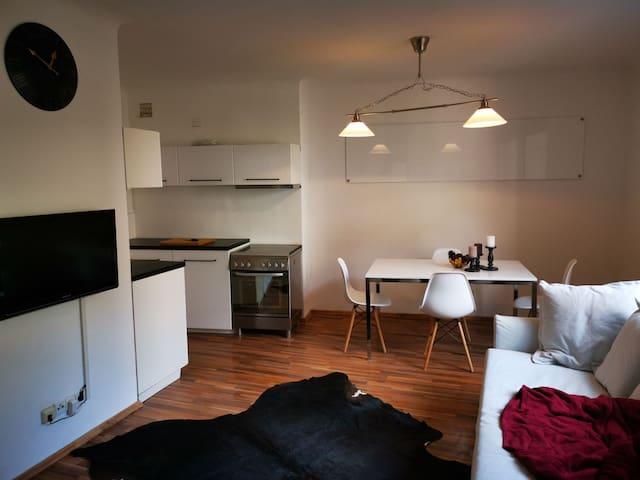 Moderne Wohnung nähe Innenstadt.