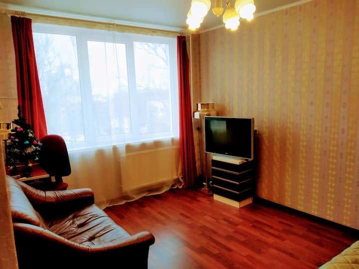 The solar, cozy, quiet apartment