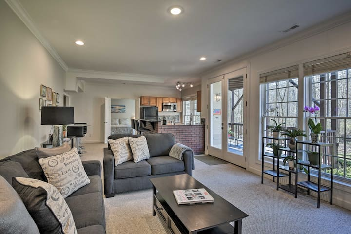NEW! Cary Apartment w/Deck & Fire Pit Near RTP!