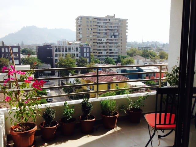 Dormitorio Depto barrio Italia, Nuñoa, Santiago - Ñuñoa - Appartement