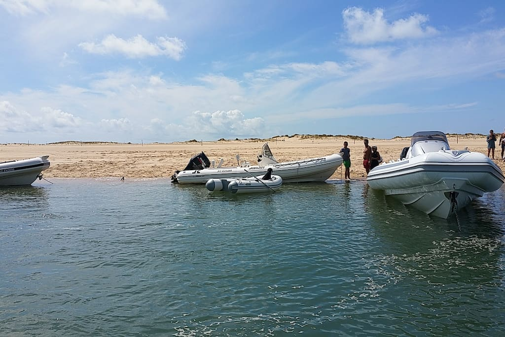 Arcachon bay with my boat, 1 hour from home