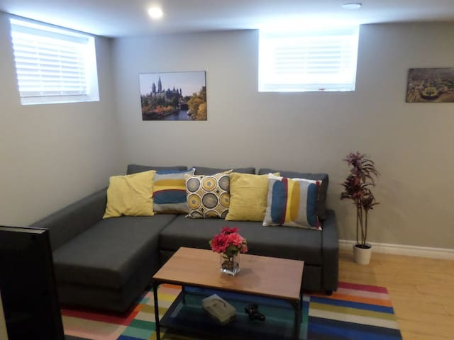 Fantastic and Modern Downtown 1-Bed Basement Apt.