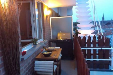 Canapé Lit, A 2min du centre ville - Koekelberg - Wohnung