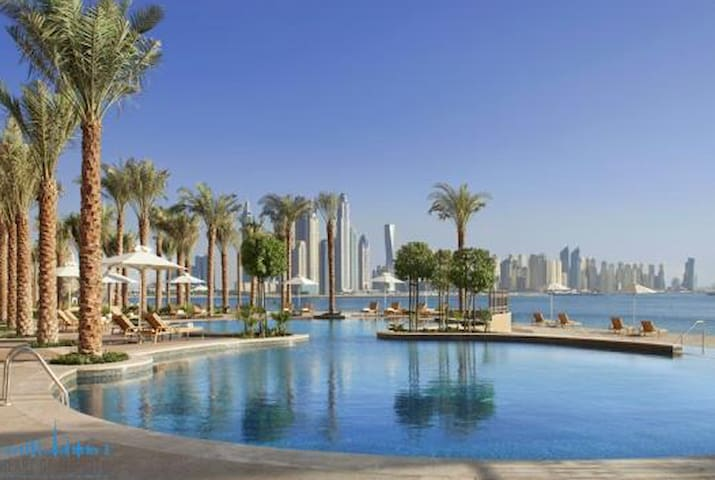 Burj Al Arab Views & Free beach/pool access
