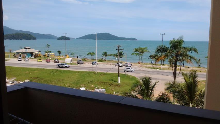 Apartamento dois quartos vista pro mar! - Caraguatatuba - Apartamento