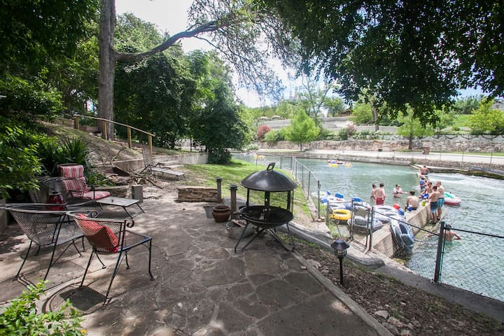 River House at the Comal Rapids