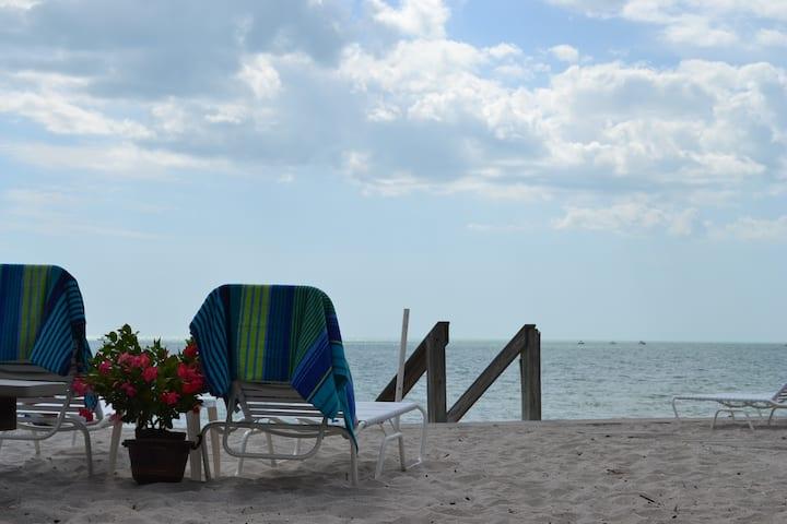 Gulf front, Shoreview Beach House, Unit C