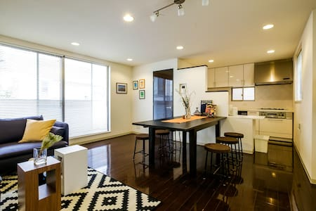 Beautiful Shinagawa 3 BR / 8 ppl / 2 min to Subway - Minato-ku
