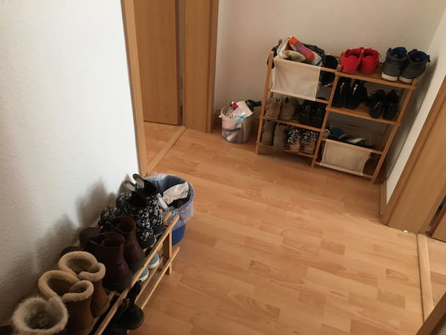 a small separate room in an WG - Mittweida - Appartement
