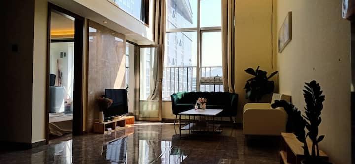 前海海景/三室两卫/近地铁口/loft/海上世界/佳兆业前海广场/全新靓房全新上架
