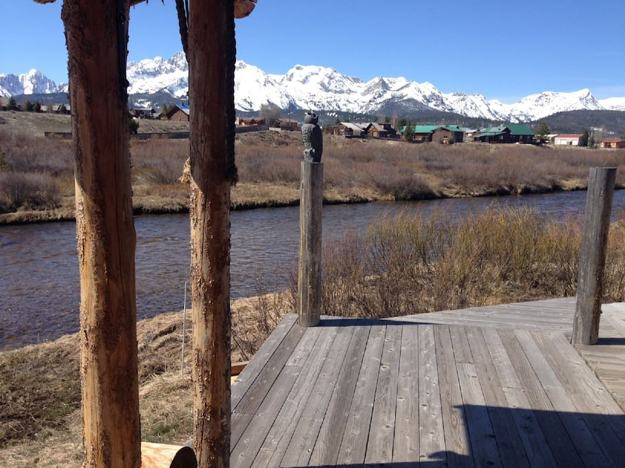 Front Deck you can fish from