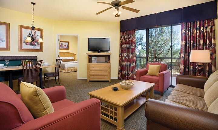 Cute and Cozy one bedroom at Wyndham Sedona Resort