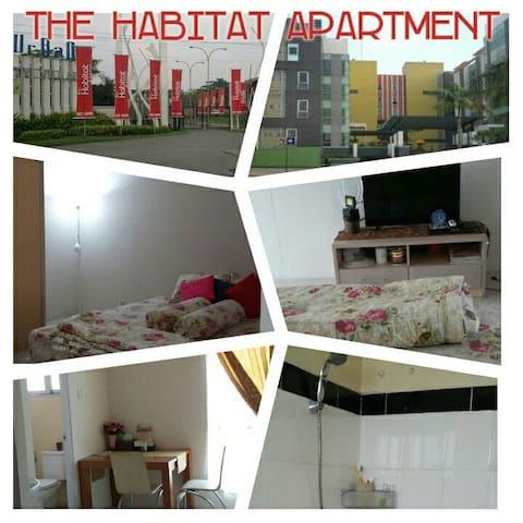 Cozy n clean The Habitat apartmnt - tangerang - Wohnung