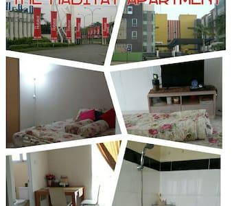 Cozy n clean The Habitat apartmnt - tangerang