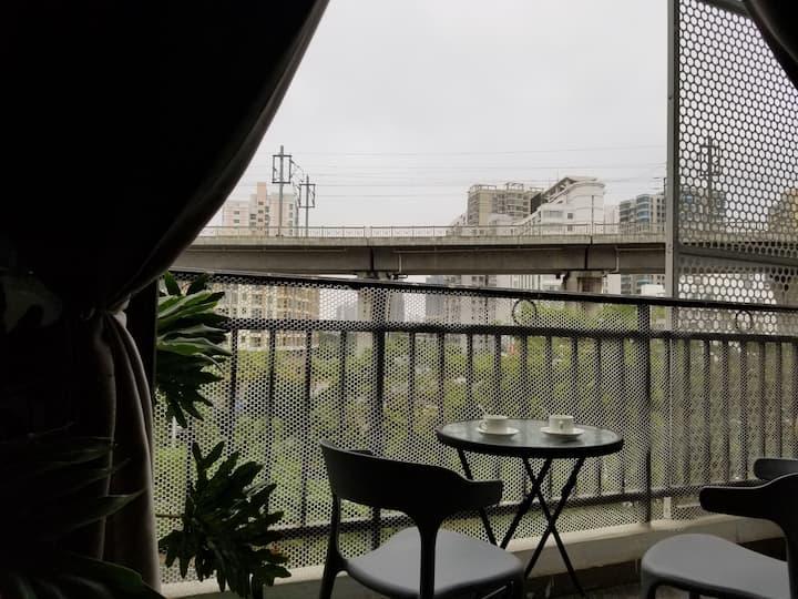 龙昆南路 近高铁站\街景复式跃层Loft公寓\小米4K电视\