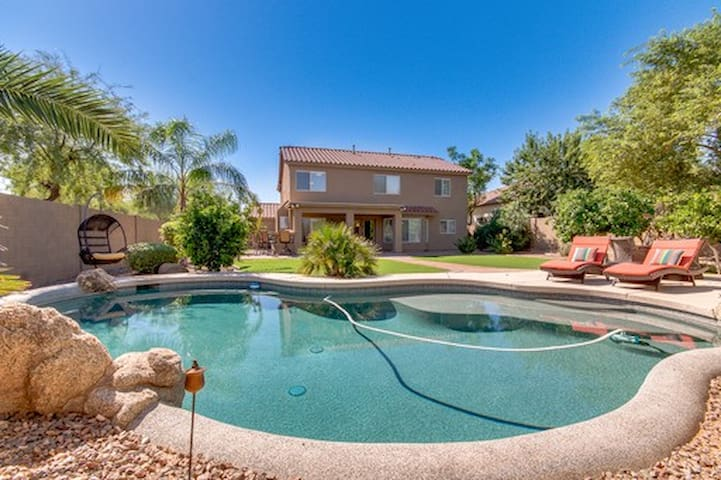 Luxury Rental with Resort Backyard and Plenty of Room for Everyone