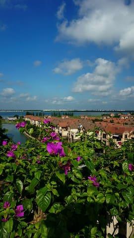 一生•两仪•三面湖 上海近郊淀山湖湖景洋房 - Suzhou - Appartamento