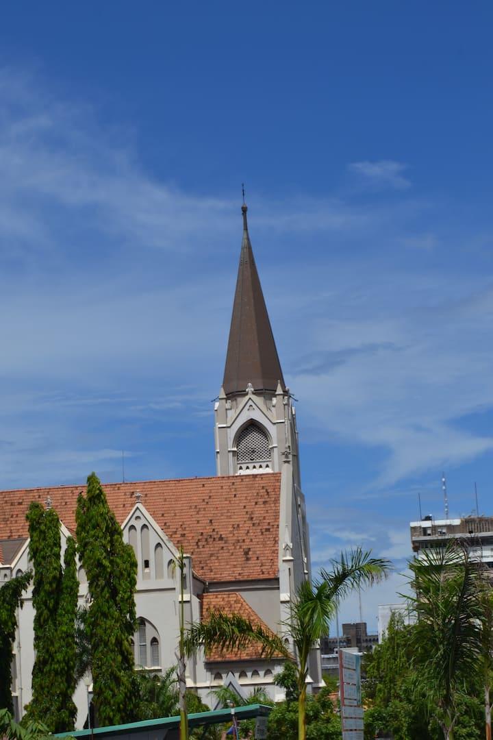 1st Catholic church to be built