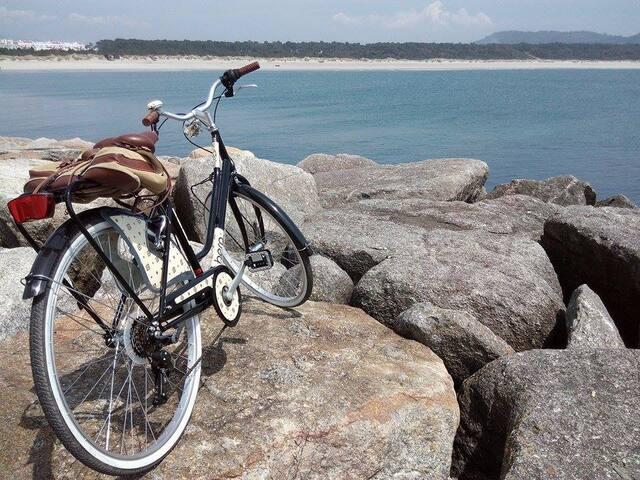 """Os passeios de bicicleta  no nosso """"jardim"""" :) / The bike tours in our garden"""