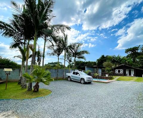 Casa estilo de Campo com piscina na Vila da Gloria