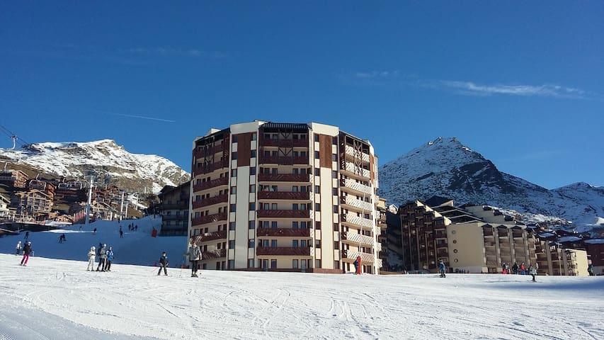 T2 27m² exposé plein sud / front de neige - Saint-Martin-de-Belleville - Apartmen