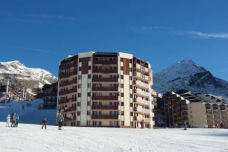 T2 27m² exposé plein sud / front de neige - Saint-Martin-de-Belleville - Apartment