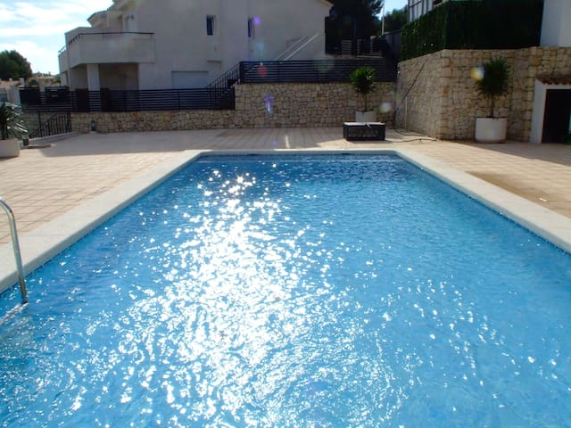 The second swimming pool