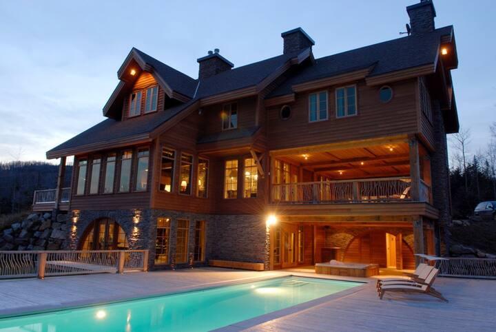 Villa Marvic: le luxe ultime en Charlevoix