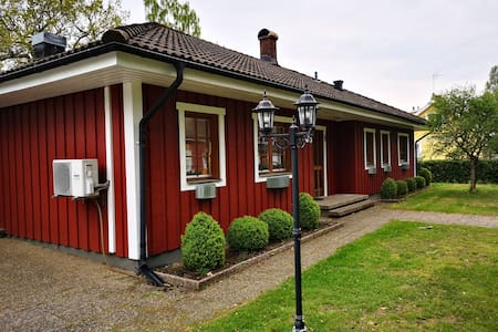 Beautiful large exclusive house near Åsnen lake