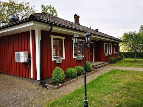 Beautiful large exclusive house near Åsnen lake