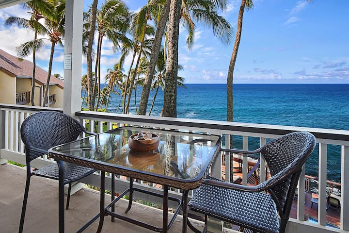 Poipu Palms #203: UPDATED, OCEANFRONT UNIT!