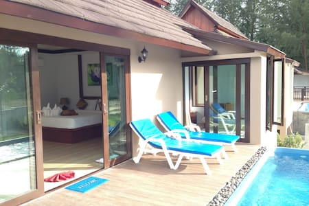 Pool Villa in Private Beach Resort - วิลล่า