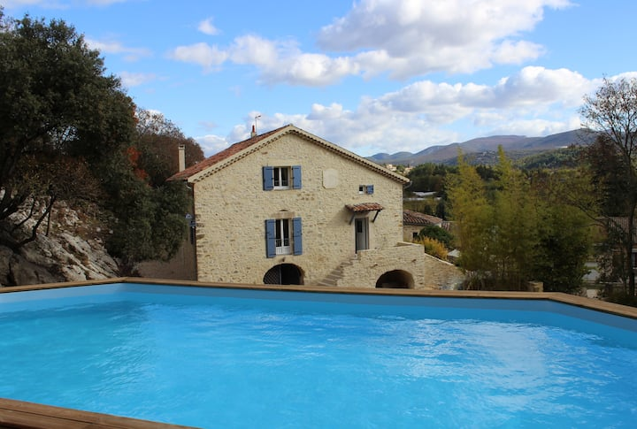 L'EMPREINTE : Maison d'hôtes Gorges de l'Ardèche