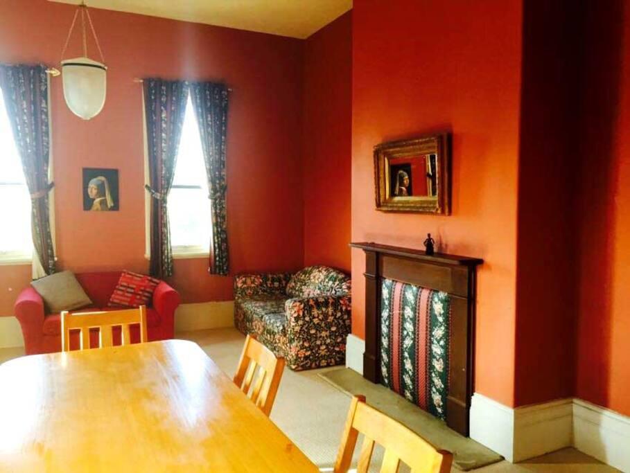 Formal dining room to share