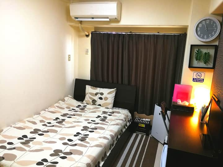 ★Central Osaka★ 3min to Kyobashi station room406