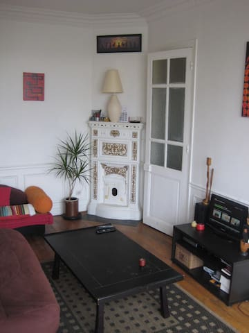 2 rooms flat 40m2.Quiet,clean and fully furnished. - Saint-Ouen - Appartement