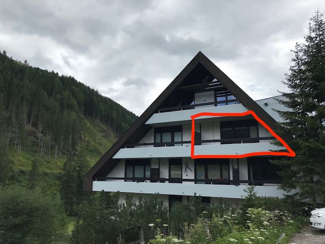 Modern, full equipped Mountain appartment for 4
