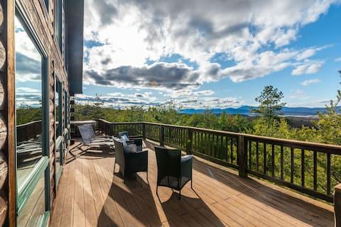 Beautiful Log Cabin w/Gorgeous View