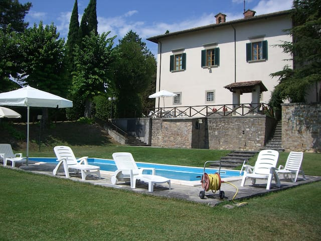 Private Villa with Pool and Wifi in Tuscany, - Sansepolcro - Casa de camp