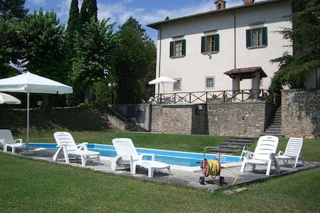 Private Villa with Pool and Wifi in Tuscany, - Sansepolcro