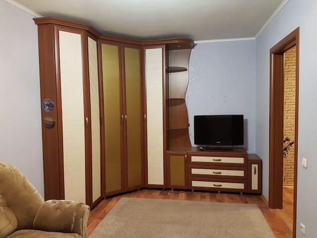 Уютная 1 комнатная квартира