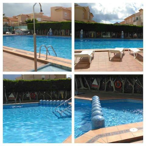 Apartamento con piscina - San Bartolomé de Tirajana - อพาร์ทเมนท์