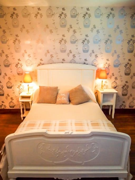 Sleep tight in our comfy bedrooms