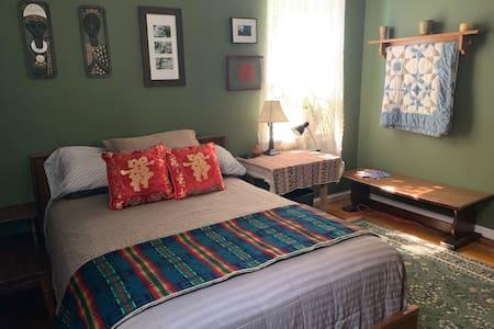 The Green Room at Casa Amparo